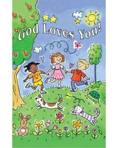 Postcard - All Occasion, God Loves You