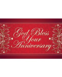 Postcard - Anniversary, God Bless Your Anniversary