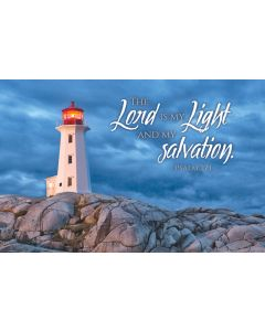 Postcard - All Occasion, The Lord is My Light and My Salvation