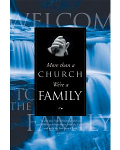 Welcome Folder - More than a Church - We're Family