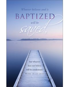 Baptism Bulletin - Whoever believes and is baptized