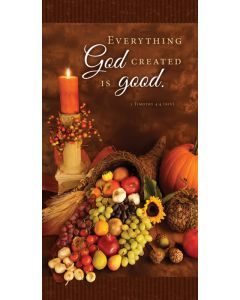 Thanksgiving Offering Envelope - Everything God Created is good