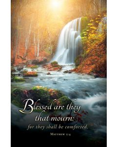 Funeral Bulletin - Blessed are they that mourn