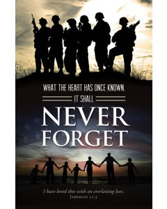 Funeral Bulletin - Never Forget