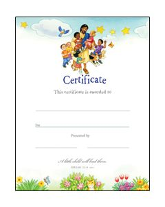 General Certificate / Jesus with the Children