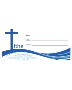 (pkg 100) Value Offering Envelope - Tithe