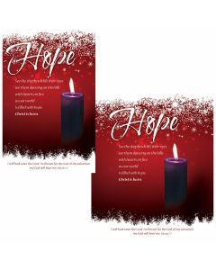 Advent Bulletin / Hope (Multiple Sizes)