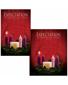 Advent Bulletin - Expectation (multiple size options)