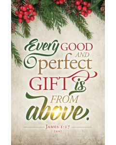 Christmas Bulletin - Every Good and perfect Gift