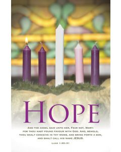 Advent Bulletin - Hope