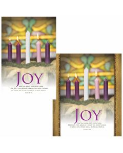 Advent Bulletin - Joy  (multiple size options)