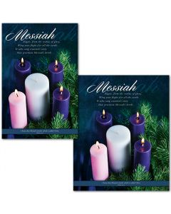 Bulletin | Advent | Messiah (multiple size options)