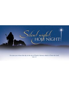 Christmas Offering Envelope / Silent night