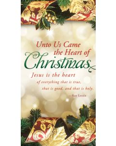 Christmas Offering Envelope / Unto Us Came the Heart of Christmas