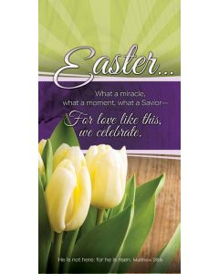 Easter Offering Envelope /Easter Miracle