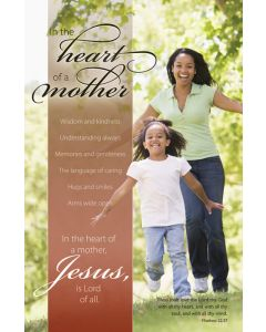 Mother's Day Bulletin / In the heart of a Mother