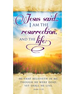 (pkg 100) Easter Offering Envelope - Jesus Said I Am