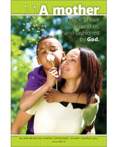 Mother's Day Bulletin - A mother is a circle of love