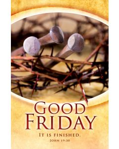 Bulletin / Good Friday |  With lines of love and promise,