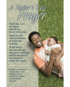 Father's Day Bulletin / A Father's Day Prayer