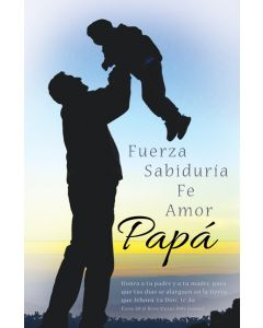 Father's Day Bulletin - Fuerza Sabiduria Fe Amor Papa