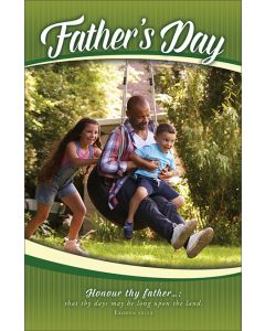 Father's Heritage Bulletin - Father's Day