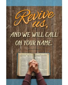 Bulletin | Revival | Revive us, and we will call on your name.