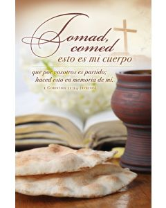 Communion Bulletin - 1 Corintios 11:24