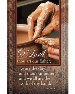 General Worship Bulletin - O Lord, thou art our father