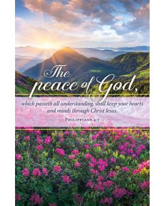 General Worship Bulletin - The Peace of God