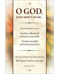 General Bulletin - O God, Have Mercy on Me…