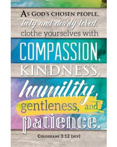 Bulletin | General | Clothe yourselves with compassion…