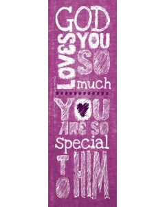 Bookmark - God Loves You So Much
