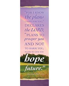 Bookmark - For I know the plans I have for you