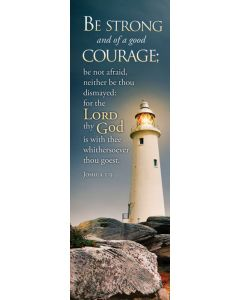 Bookmark - Be strong and of a good courage