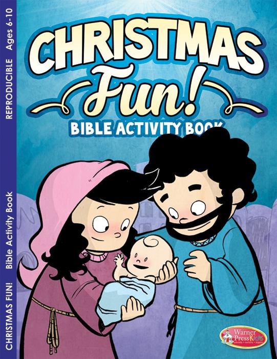 Coloring Activity Book - Christmas Fun! Bible Activity Book