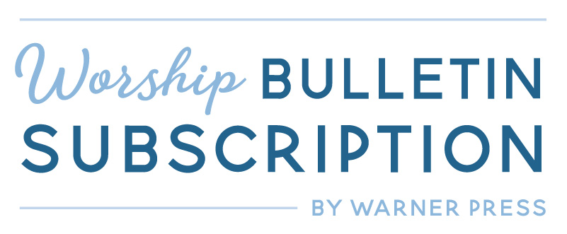 Worship Bulletin Subscription by Warner Press