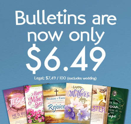 Bulletins are now $6.49