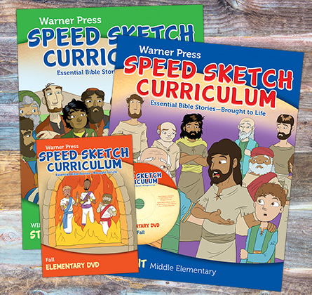 Speed Sketch Curriculum Covers