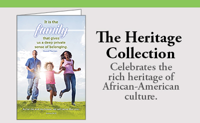 Heritage Collection Bulletin Subscription African American family