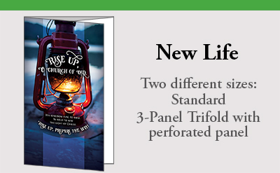 New Life in two sizes Response Tab Standard