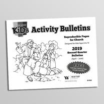 graphic regarding Free Printable Children's Church Bulletins referred to as Church Announcements - Warner Thrust